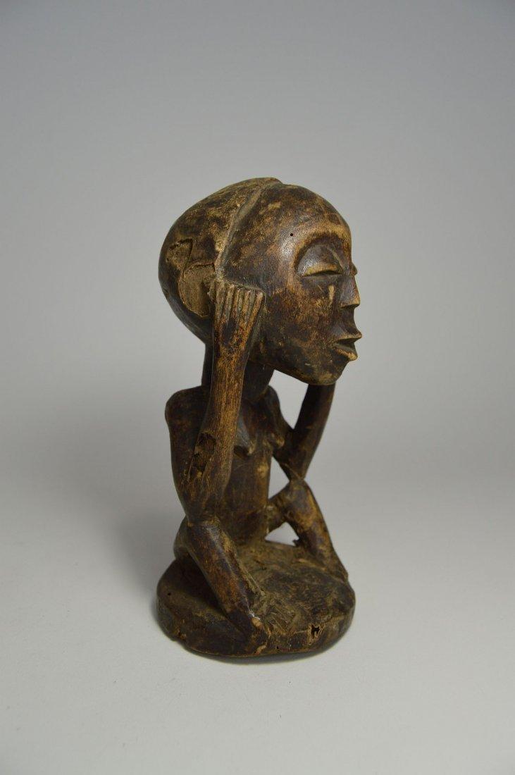 Charming Bena Lulua Ancestor sculpture