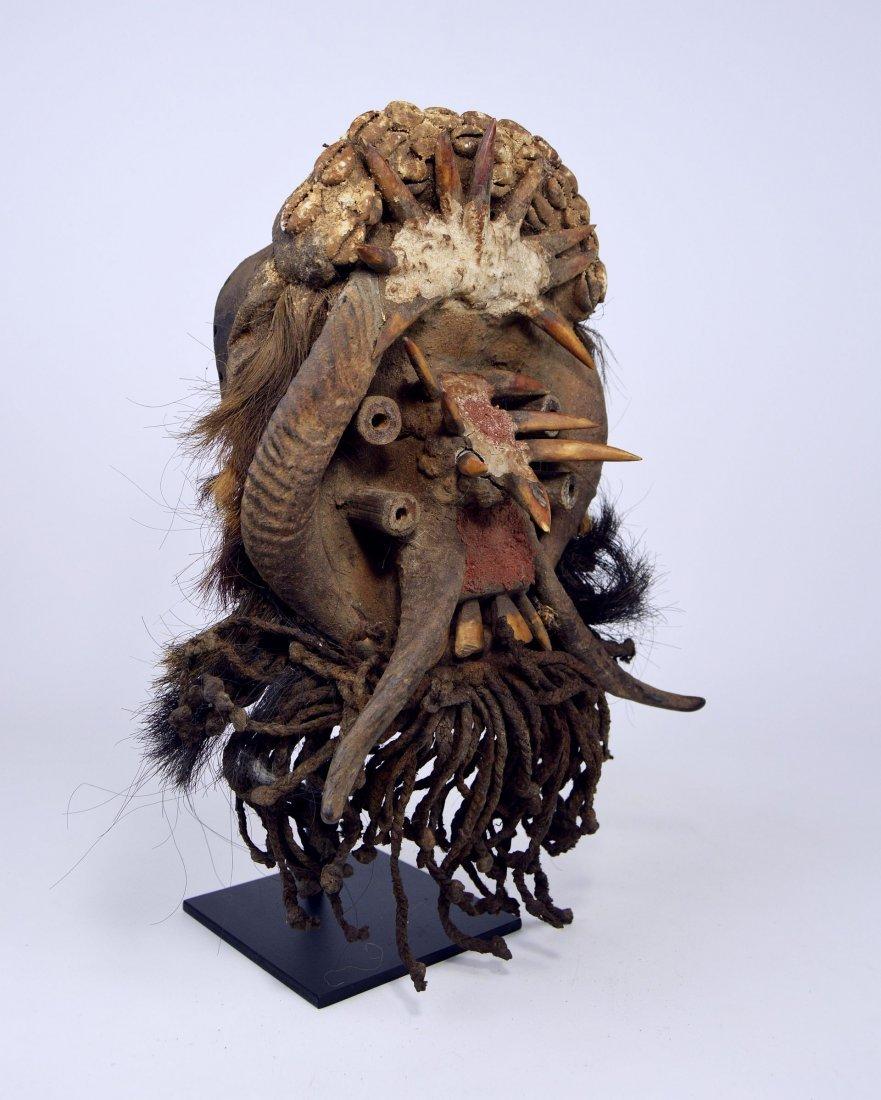 A Gere Fetish mask, African Tribal Art - 4