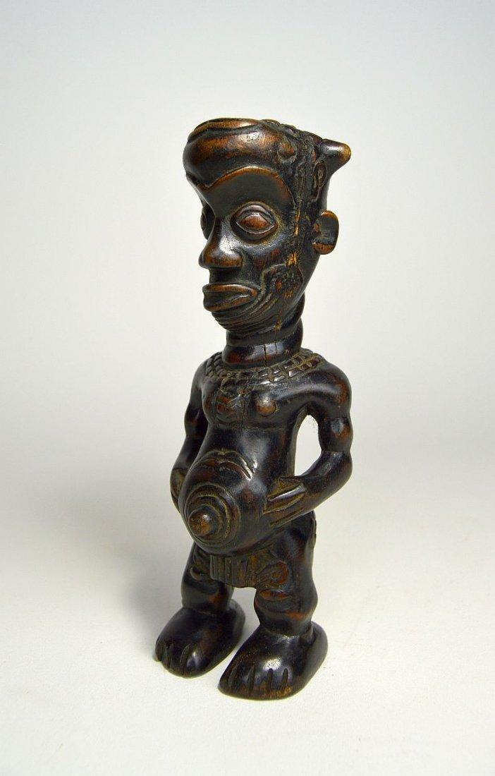 A Vintage Bena Lulua Ancestor sculpture