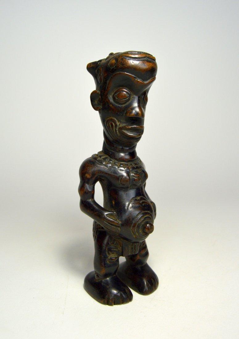 A Vintage Bena Lulua Ancestor sculpture - 3