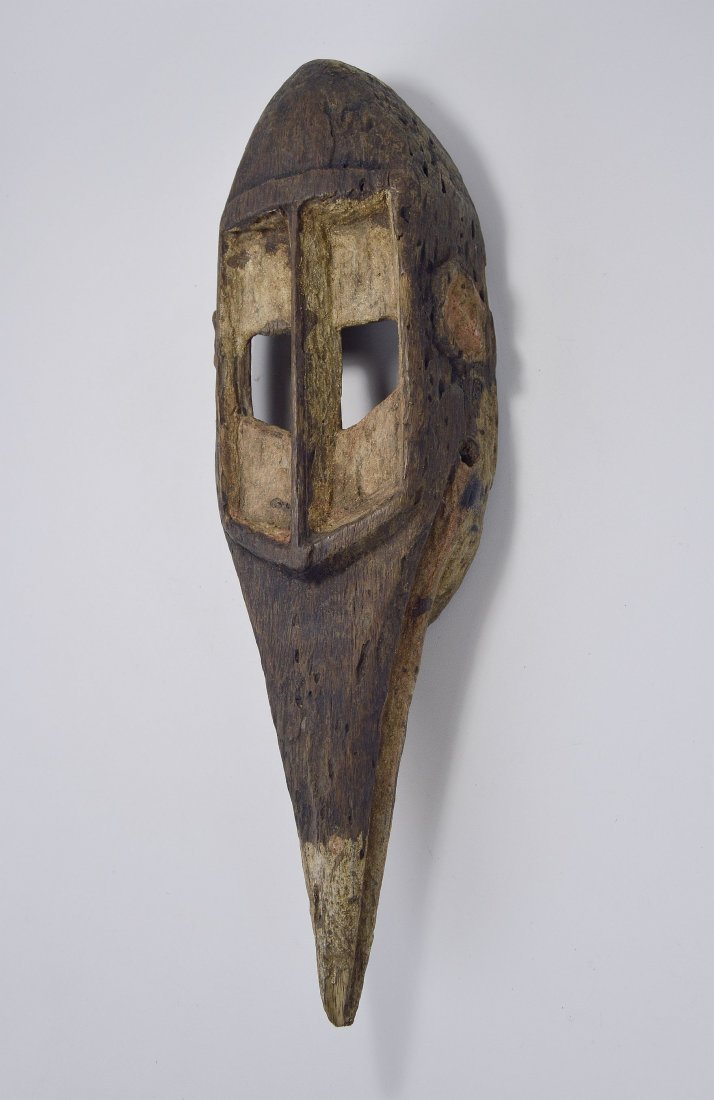 Dogon Avian Bird Mask with eroded surface