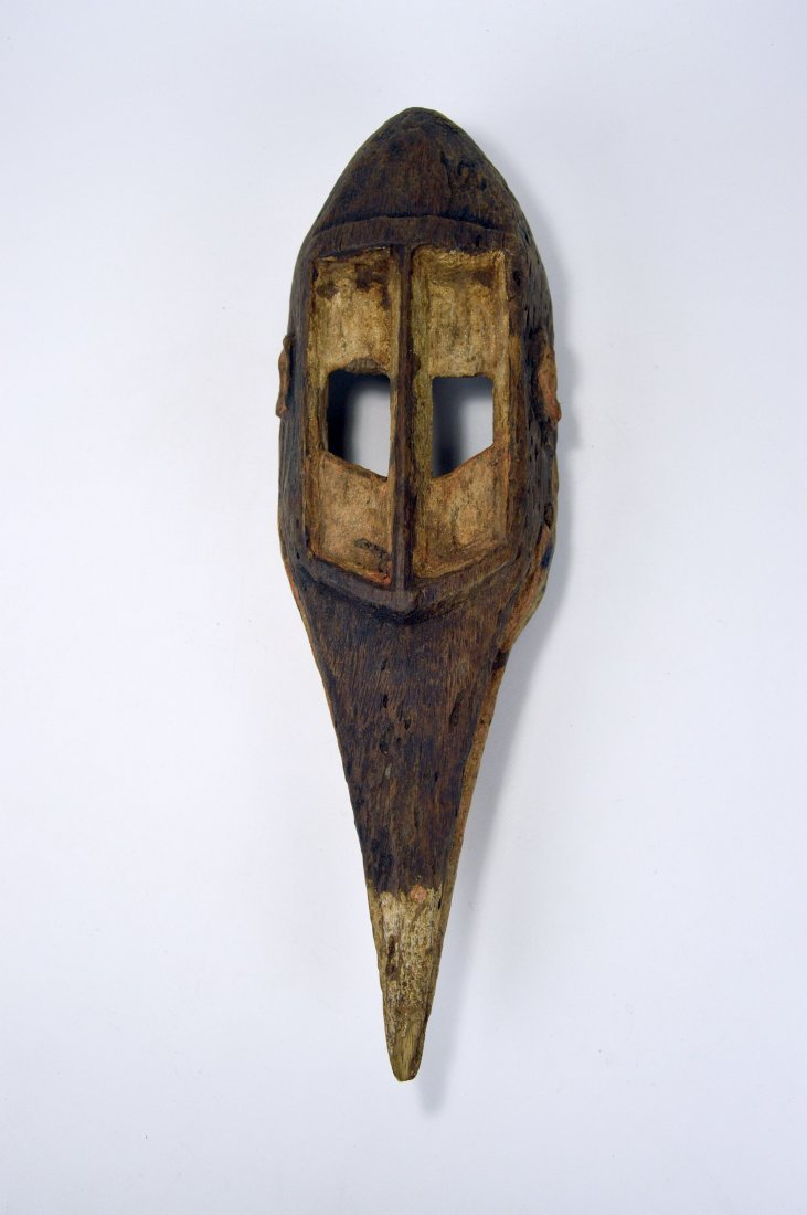 Dogon Avian Bird Mask with eroded surface - 2