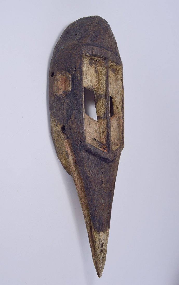 Dogon Avian Bird Mask with eroded surface - 3