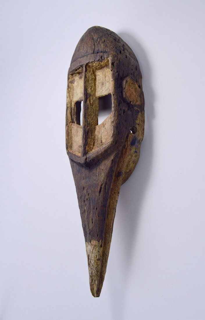 Dogon Avian Bird Mask with eroded surface - 4