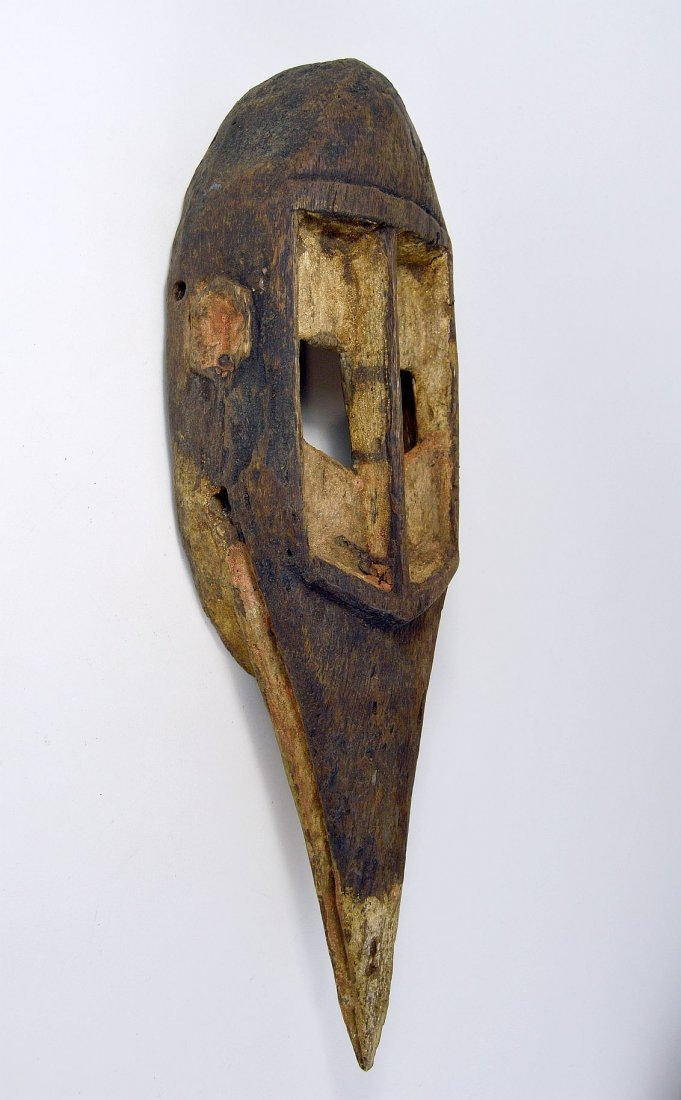 Dogon Avian Bird Mask with eroded surface - 5