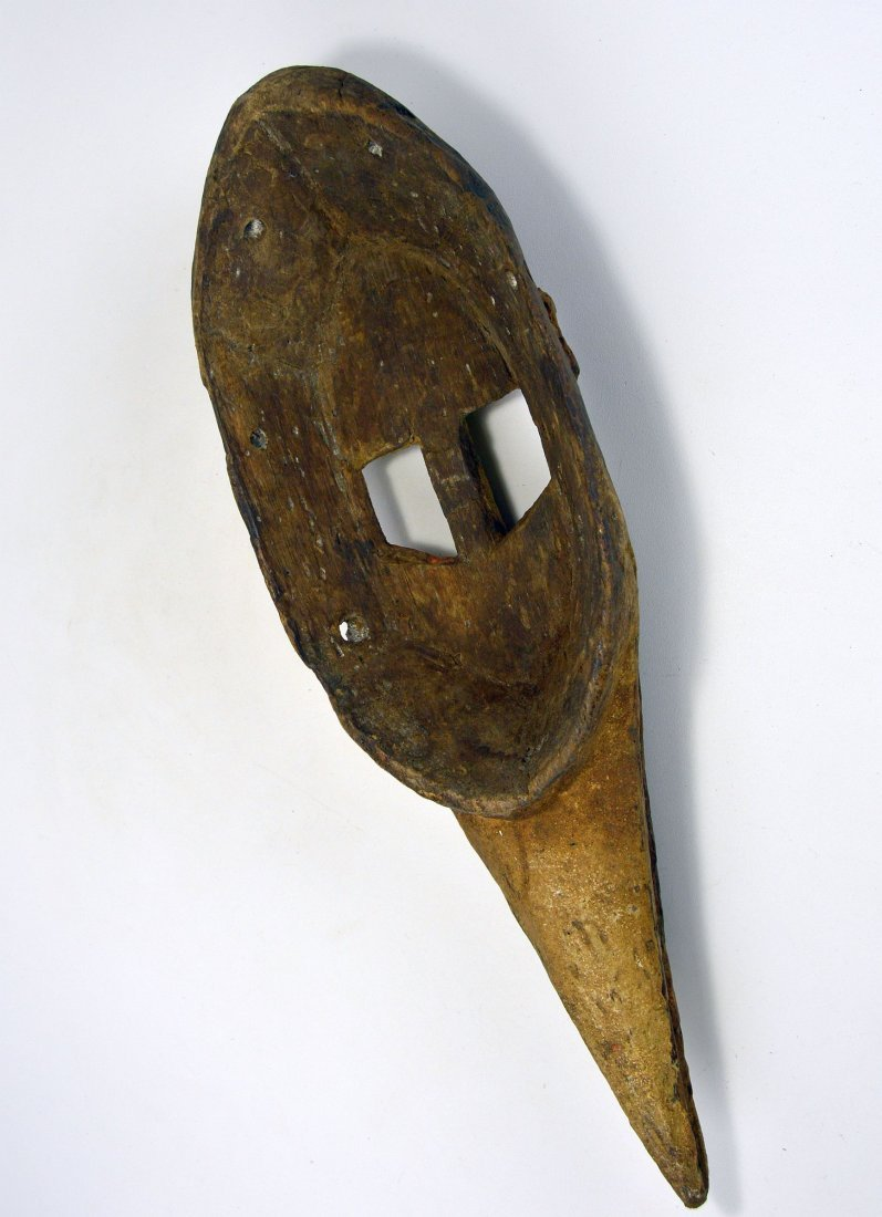 Dogon Avian Bird Mask with eroded surface - 6
