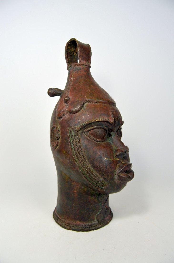 A Fine Old Yoruba Ijebu Bronze Bell