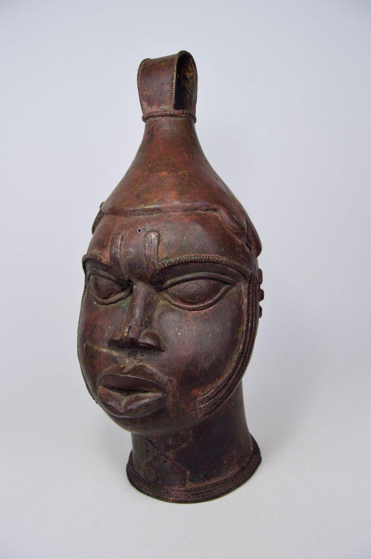 A Fine Old Yoruba Ijebu Bronze Bell - 2