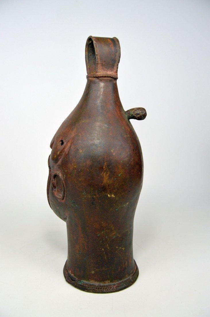 A Fine Old Yoruba Ijebu Bronze Bell - 6