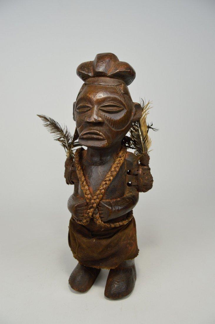A Yaka magic fetish sculpture, African Art - 2