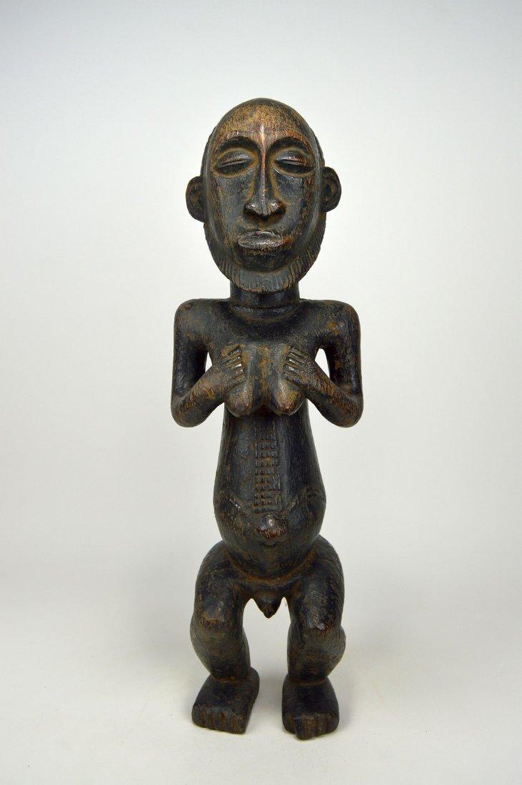 A Hemba Hermaphrodite sculpture, African Art
