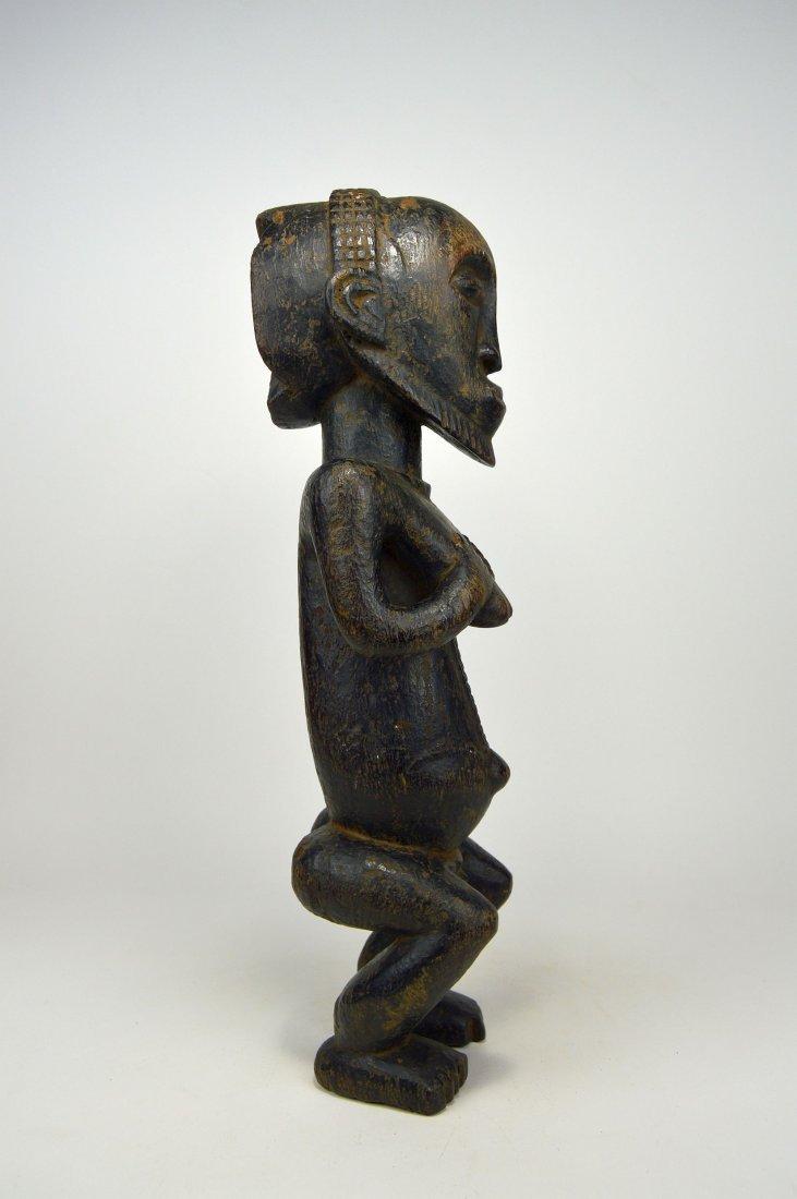 A Hemba Hermaphrodite sculpture, African Art - 5