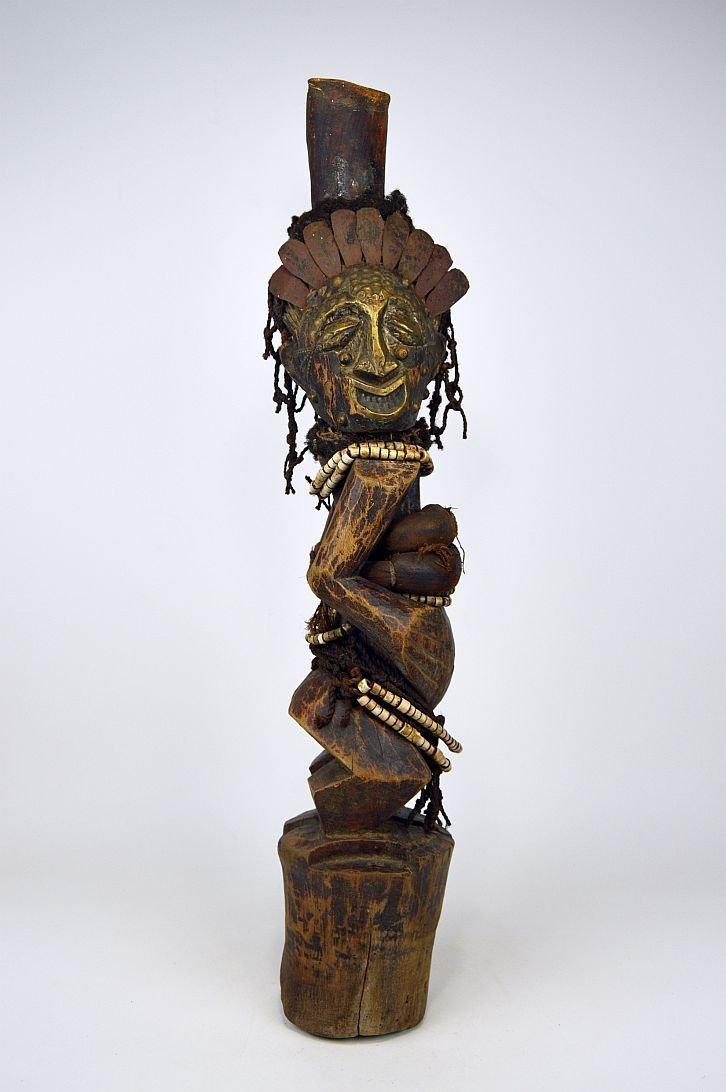 A Songye Nkisi magic fetish, African Art