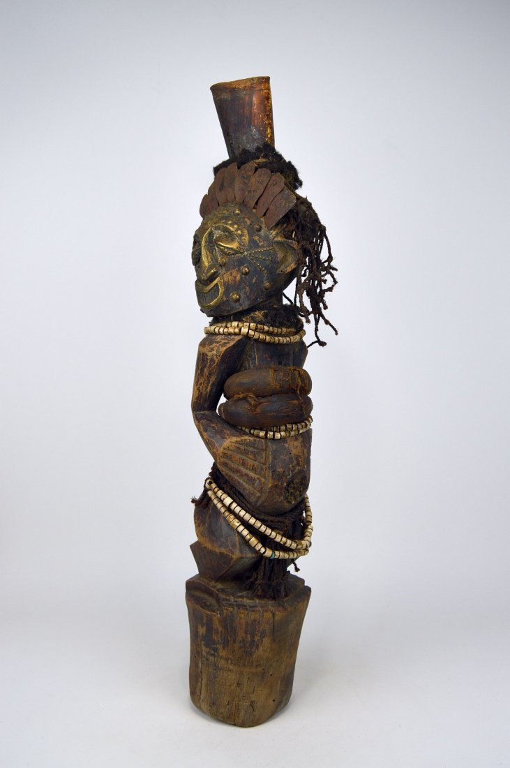 A Songye Nkisi magic fetish, African Art - 2