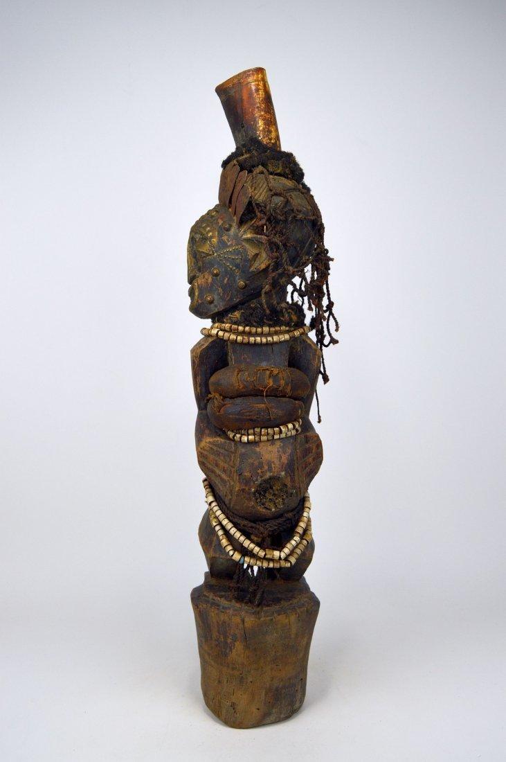 A Songye Nkisi magic fetish, African Art - 3