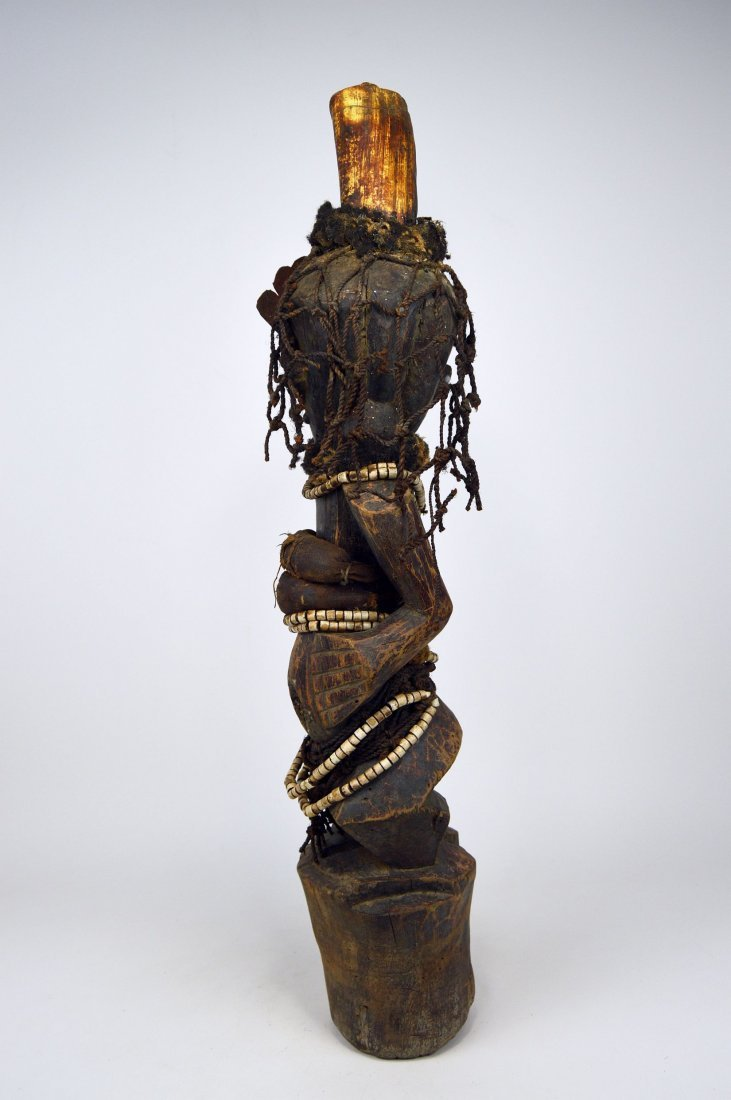 A Songye Nkisi magic fetish, African Art - 4