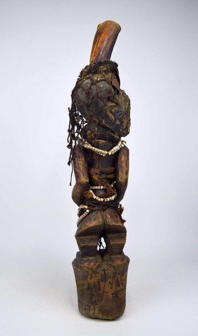 A Songye Nkisi magic fetish, African Art - 5