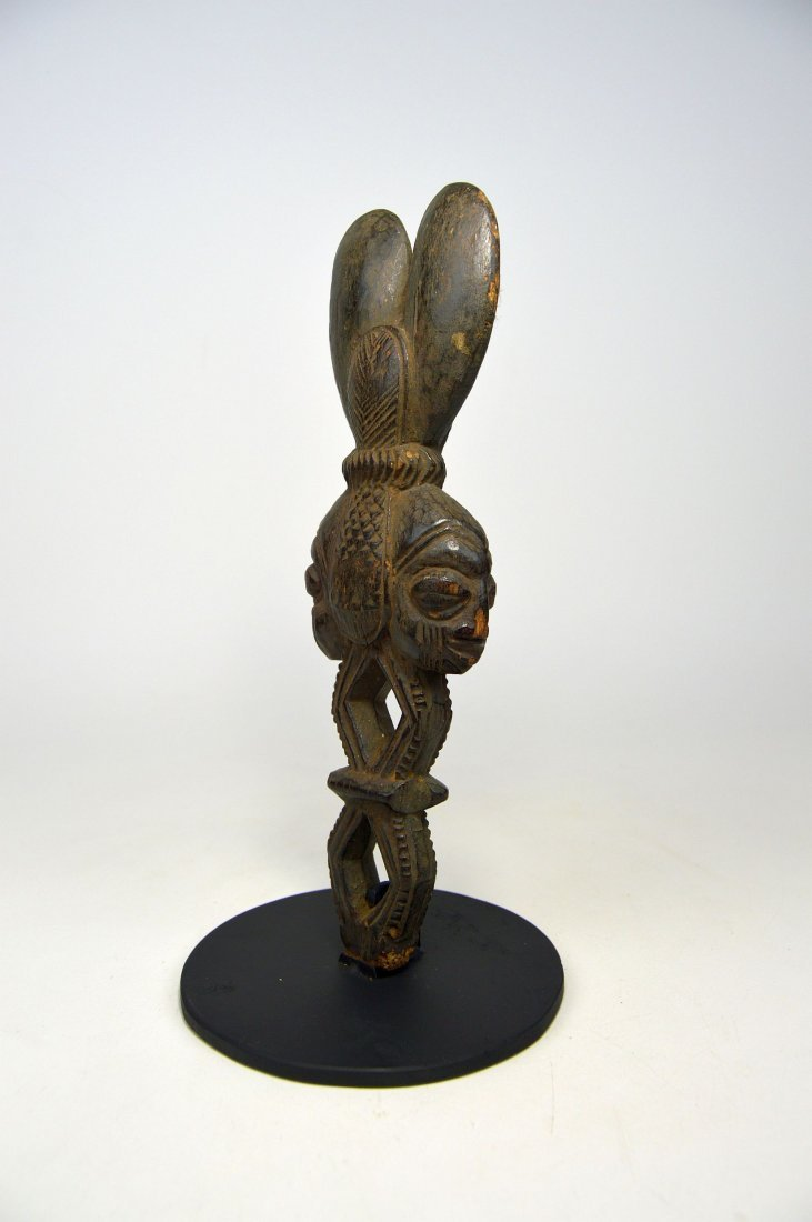 Ornate Shango wand from the Yoruba - 3