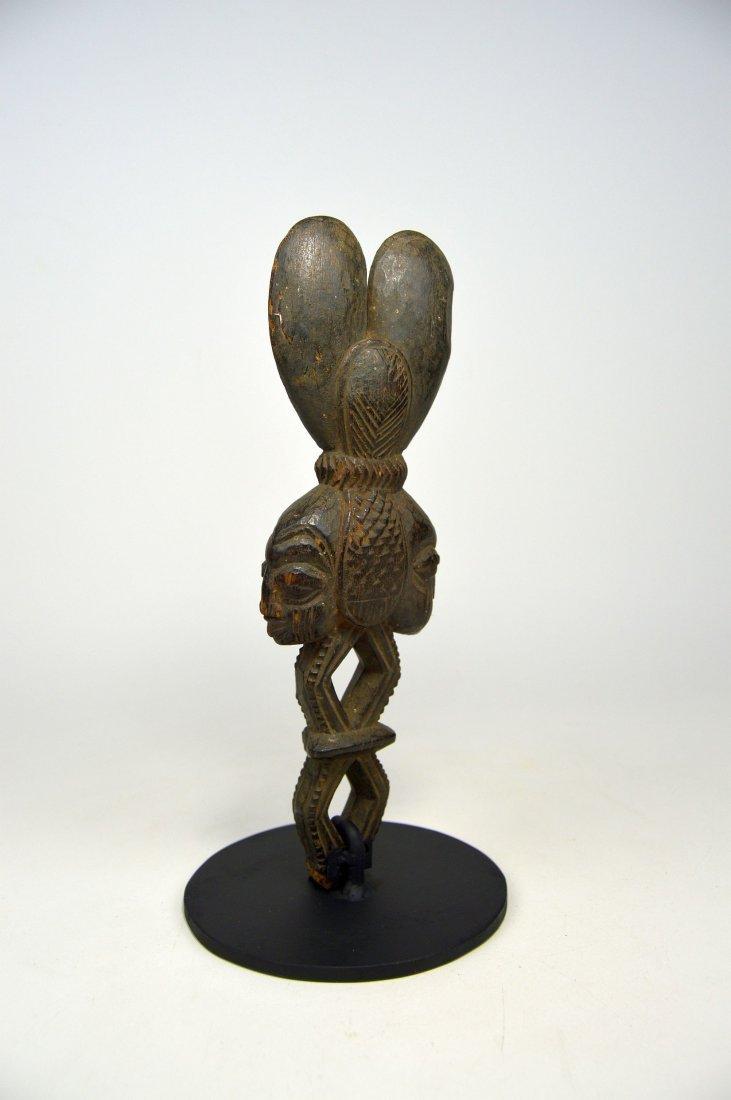Ornate Shango wand from the Yoruba - 4