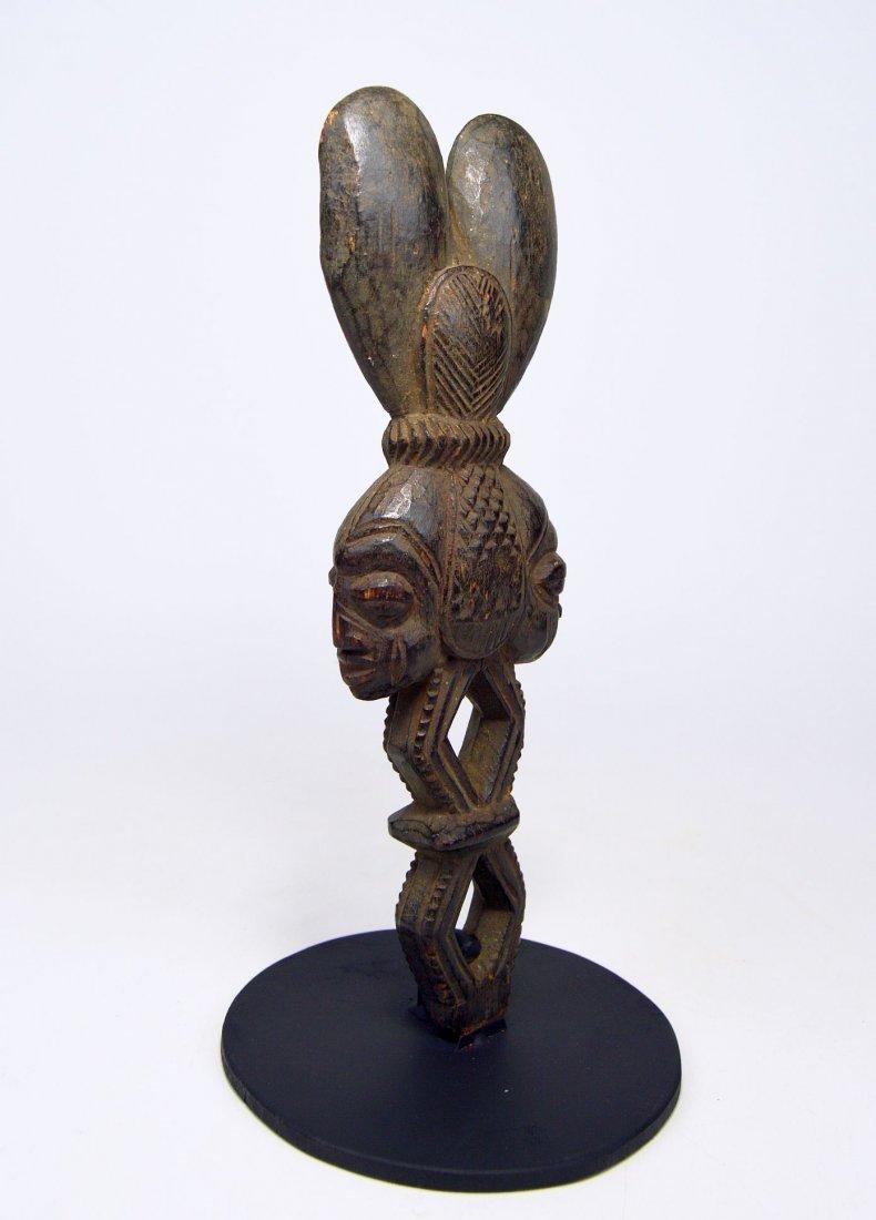 Ornate Shango wand from the Yoruba - 5