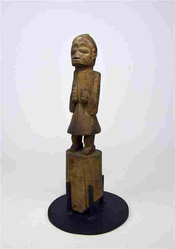 Old Yoruba Eshu staff, African Art