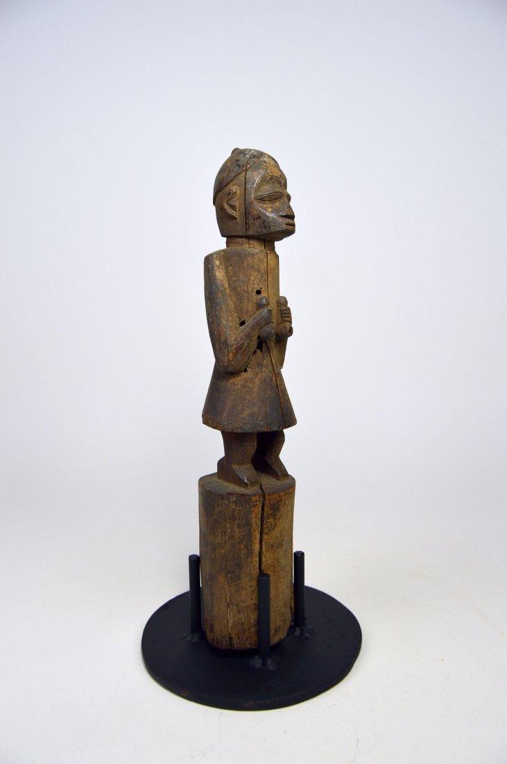 Old Yoruba Eshu staff, African Art - 2