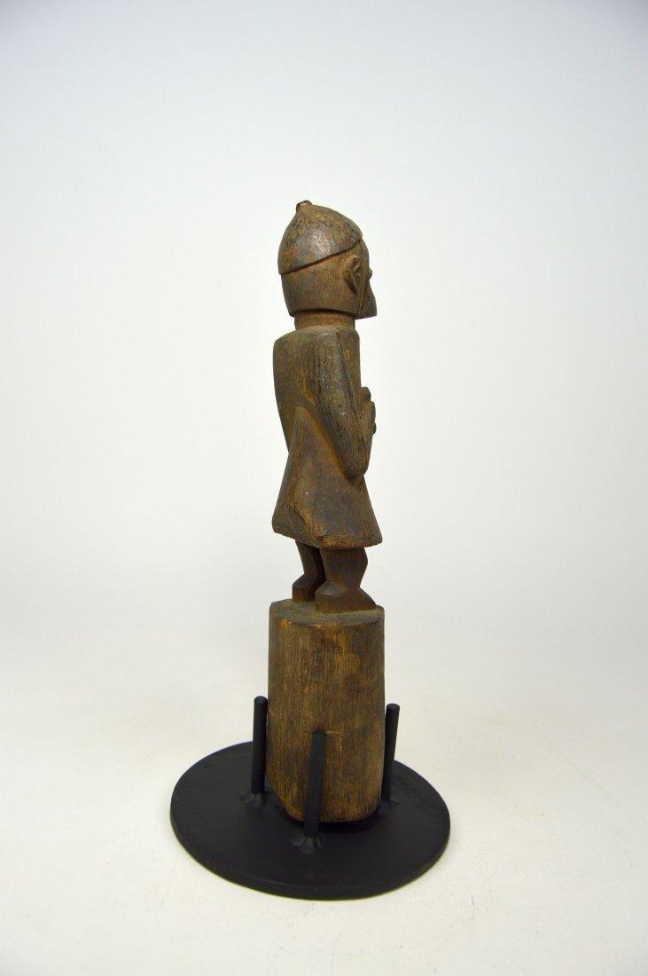 Old Yoruba Eshu staff, African Art - 3