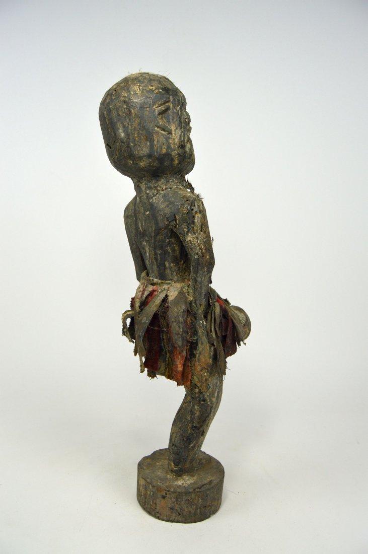 Ewe One legged fetish with erect phallus, African Art - 3