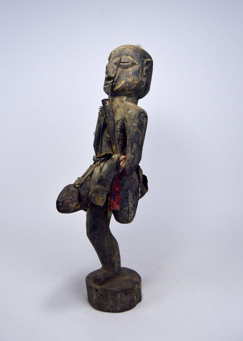 Ewe One legged fetish with erect phallus, African Art - 5