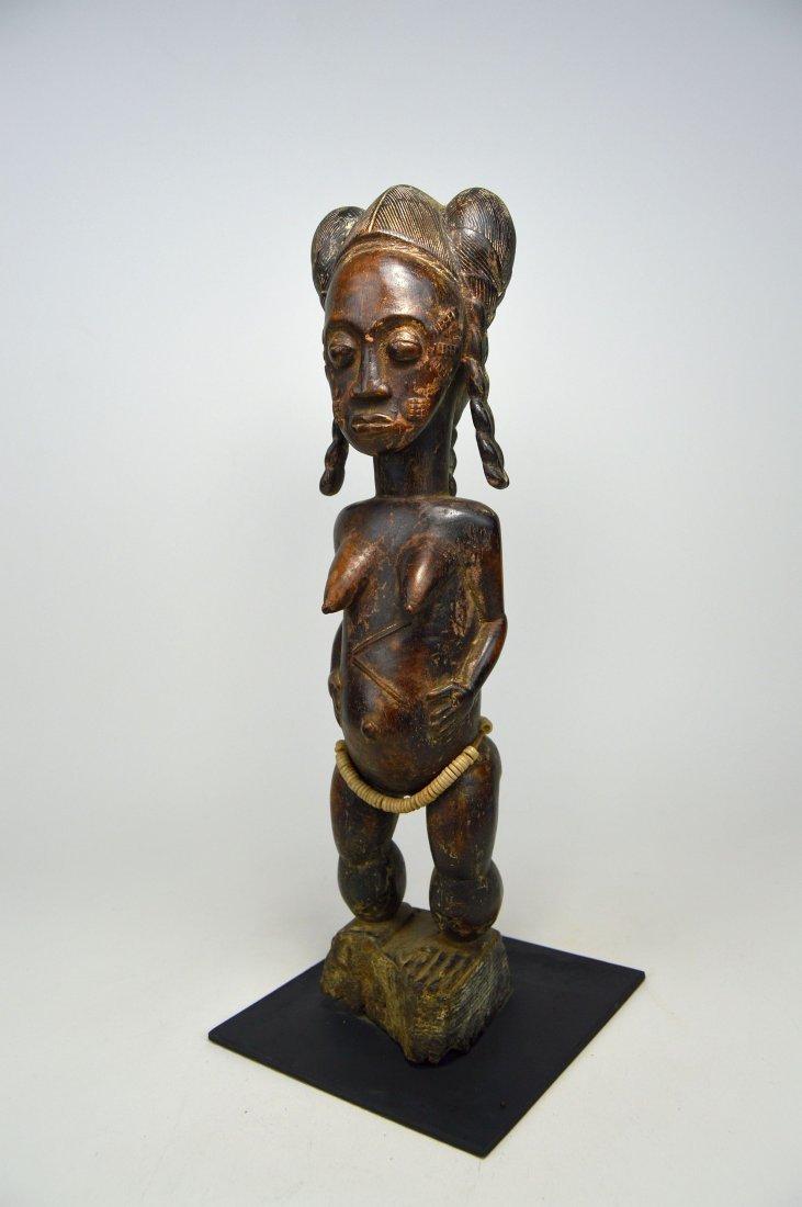 A Fine Baule female sculpture, African Art