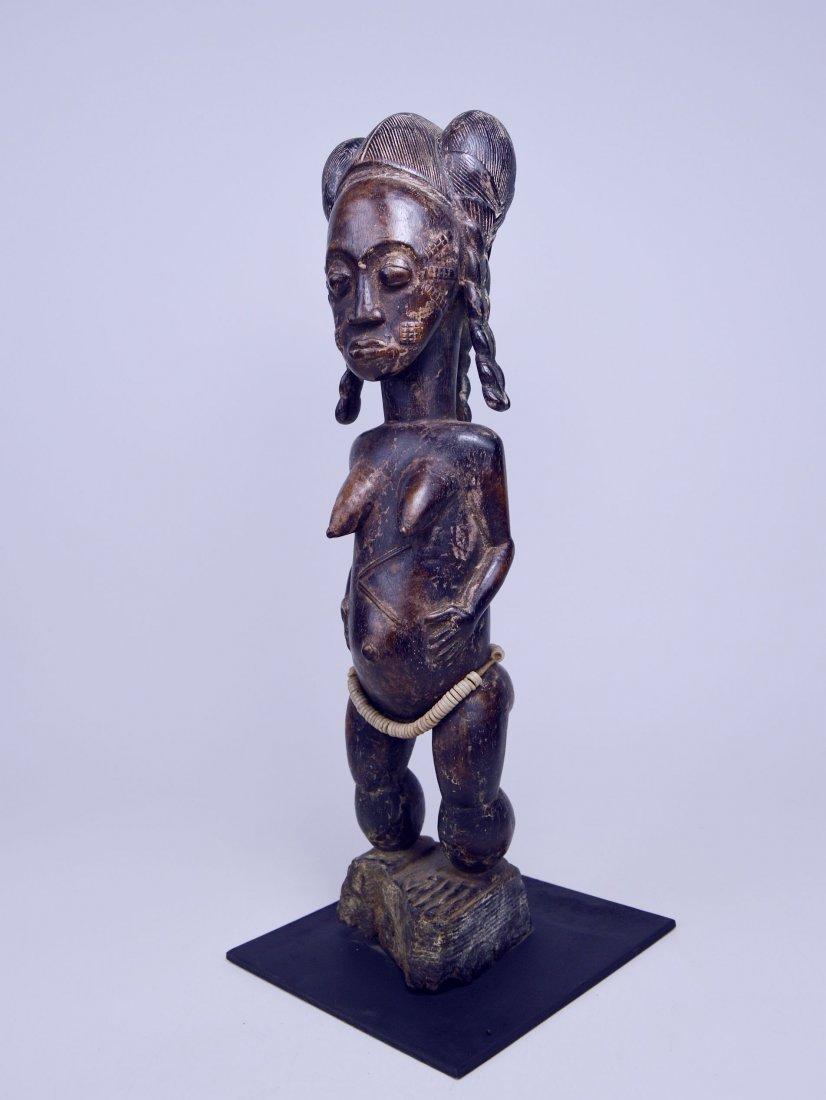 A Fine Baule female sculpture, African Art - 2