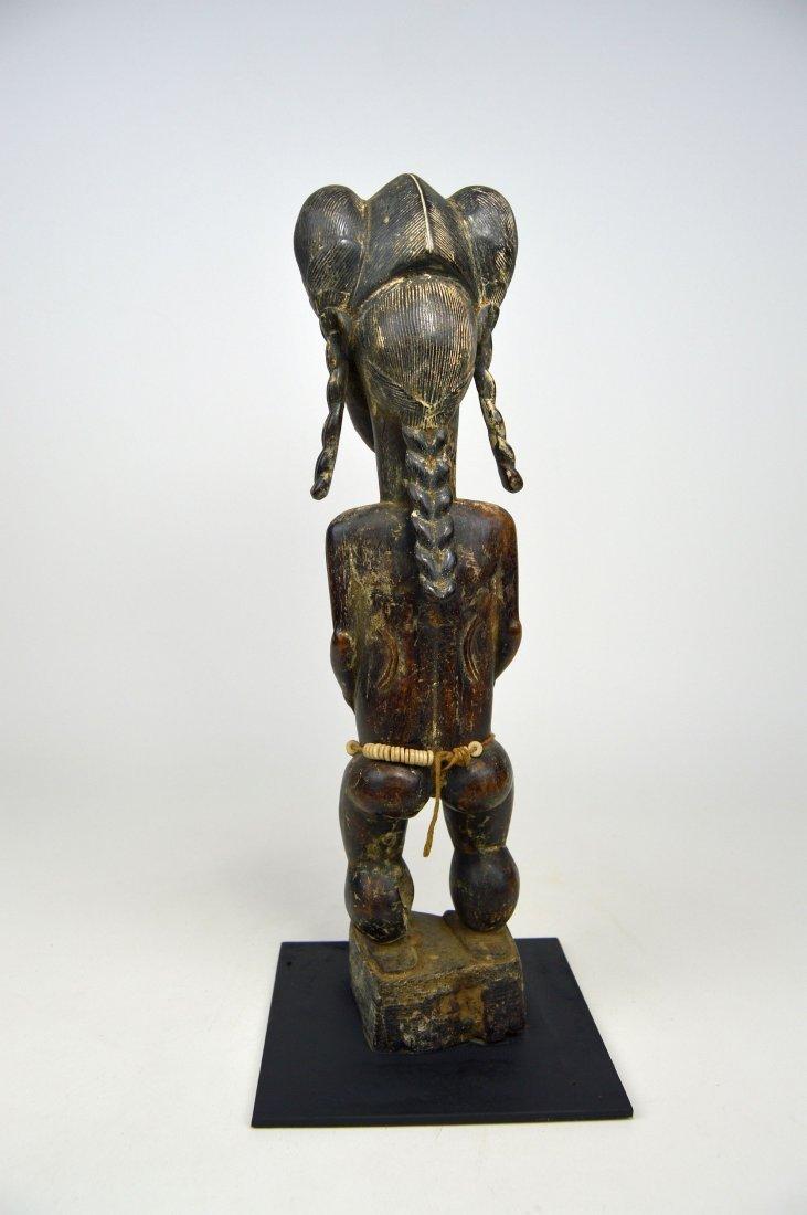 A Fine Baule female sculpture, African Art - 4