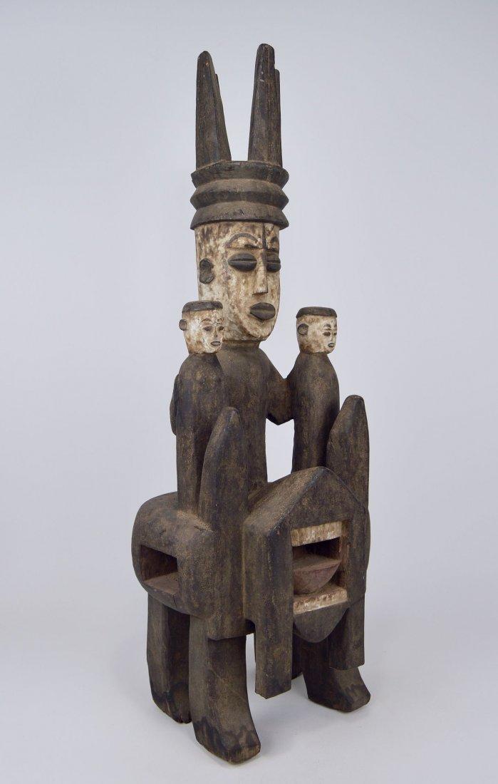 Rare Urhubo Aggression Shrine sculpture, African Art - 3