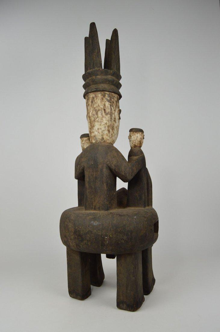 Rare Urhubo Aggression Shrine sculpture, African Art - 6