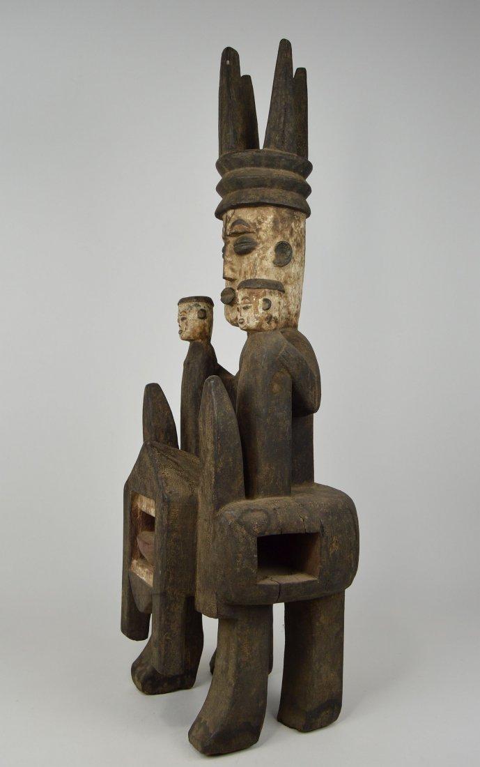 Rare Urhubo Aggression Shrine sculpture, African Art - 7
