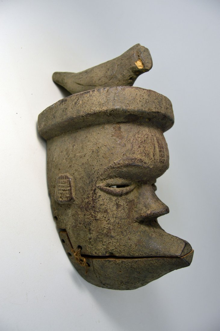 Ogoni African mask with articulated jaw