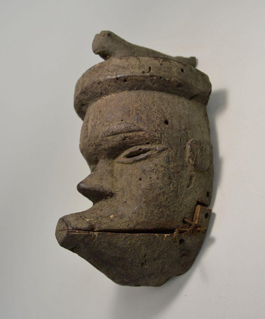 Ogoni African mask with articulated jaw - 3
