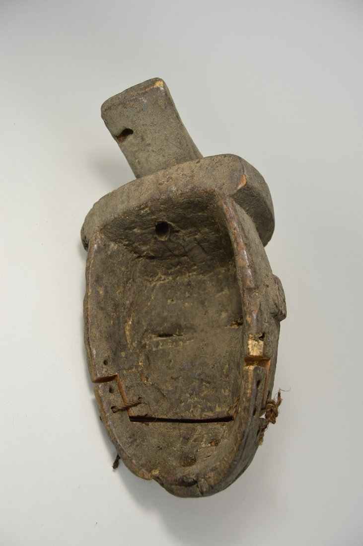 Ogoni African mask with articulated jaw - 4