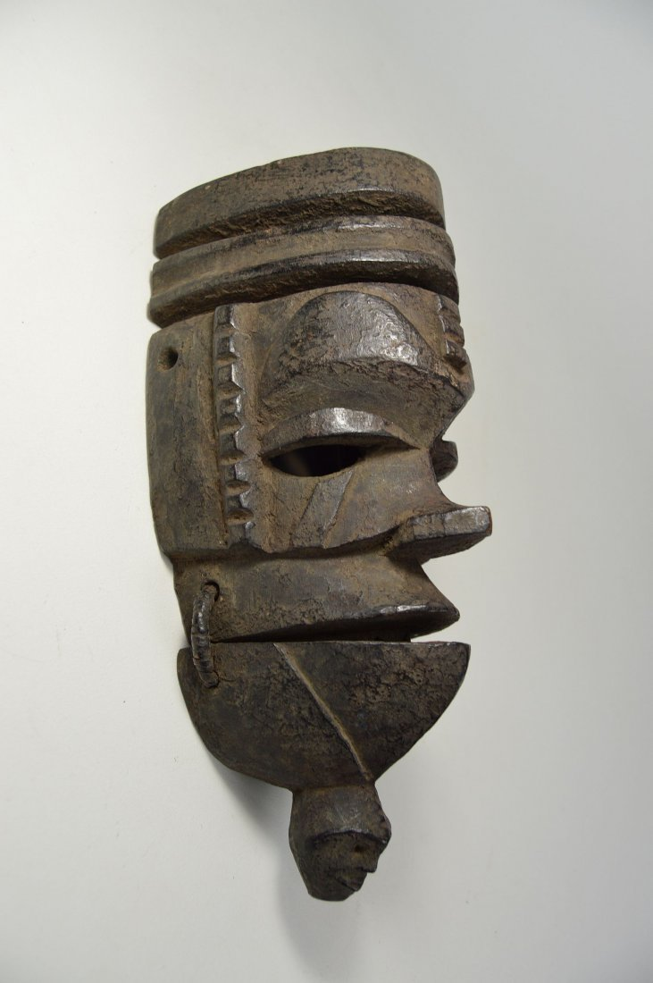 Ogoni mask with Movable jaw, African mask