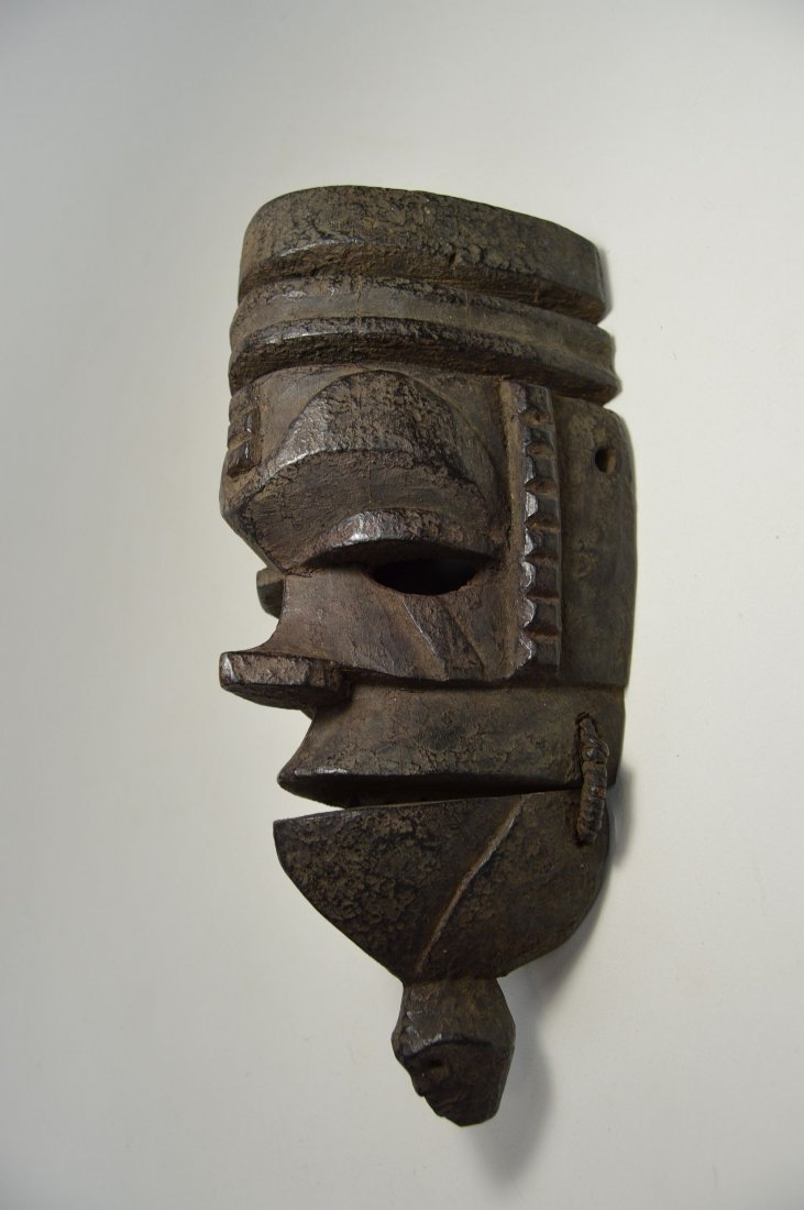 Ogoni mask with Movable jaw, African mask - 3