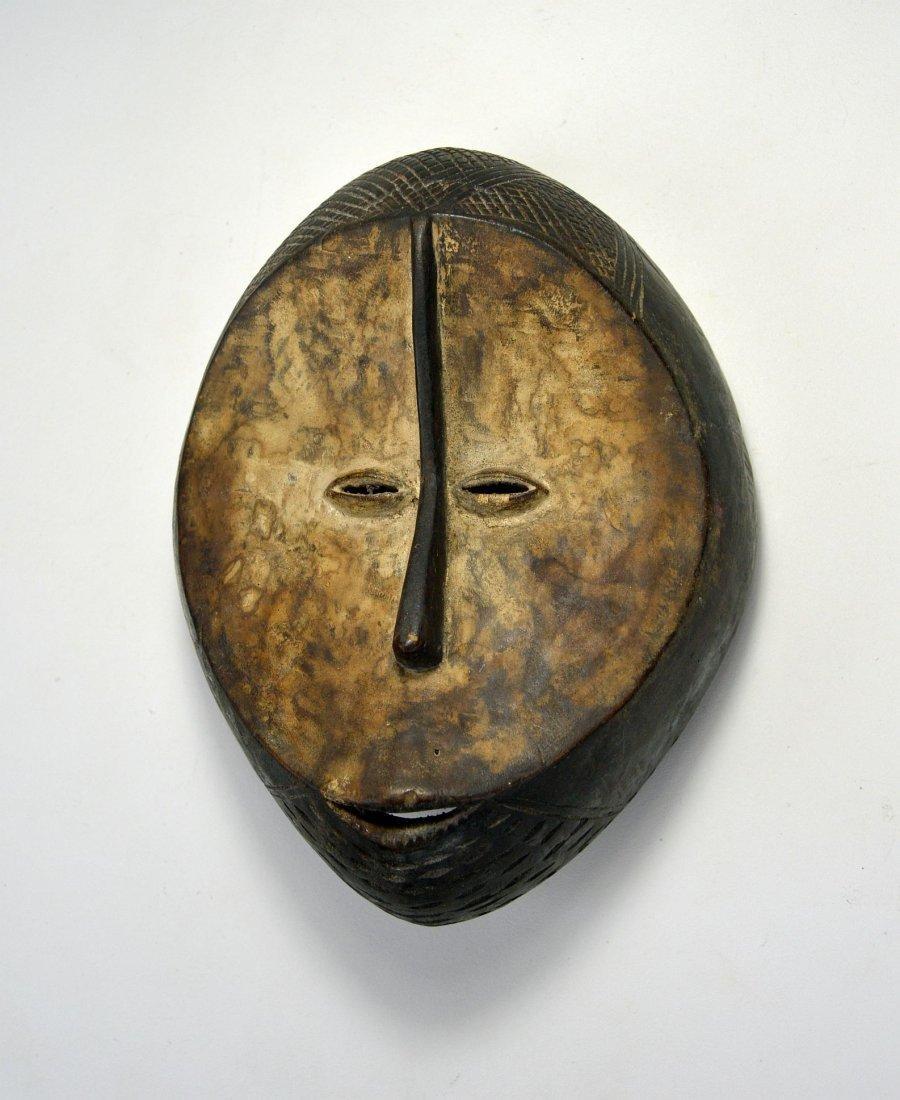 A Fine Old Lega mask, African Art - 3