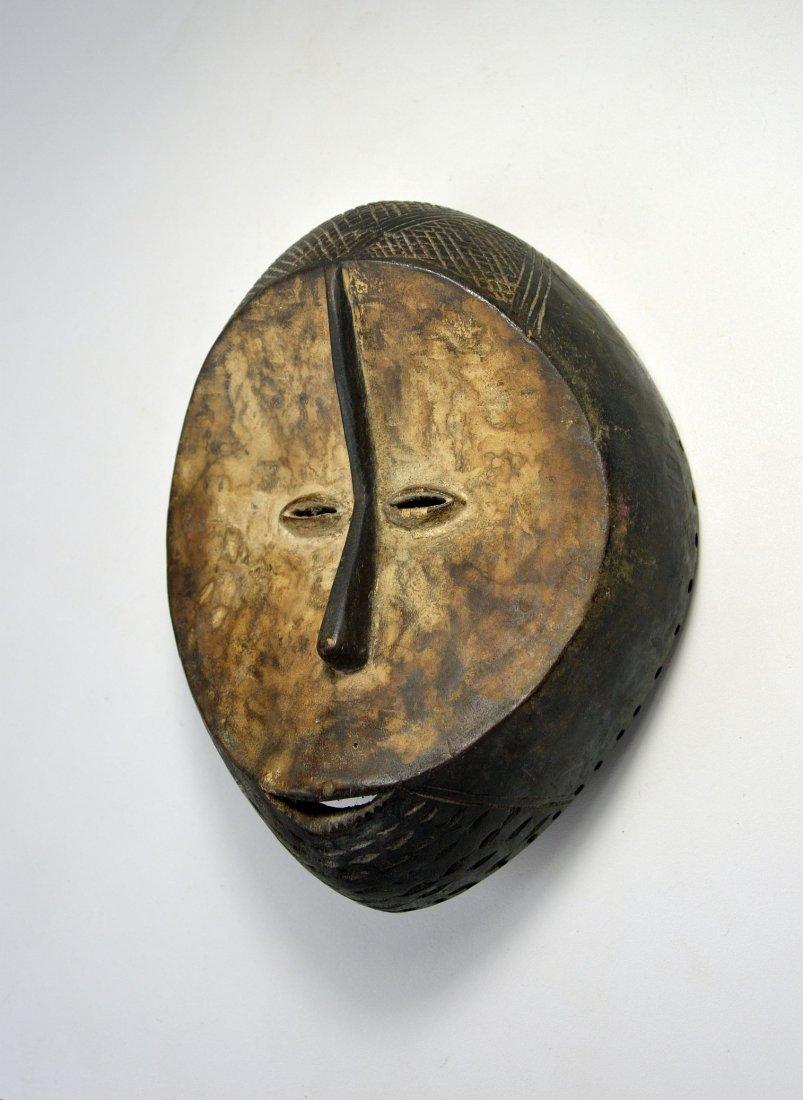 A Fine Old Lega mask, African Art - 4