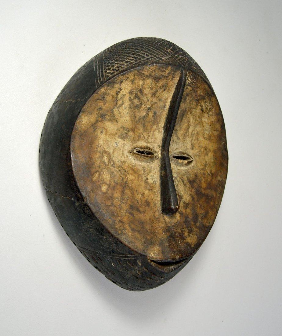 A Fine Old Lega mask, African Art - 5