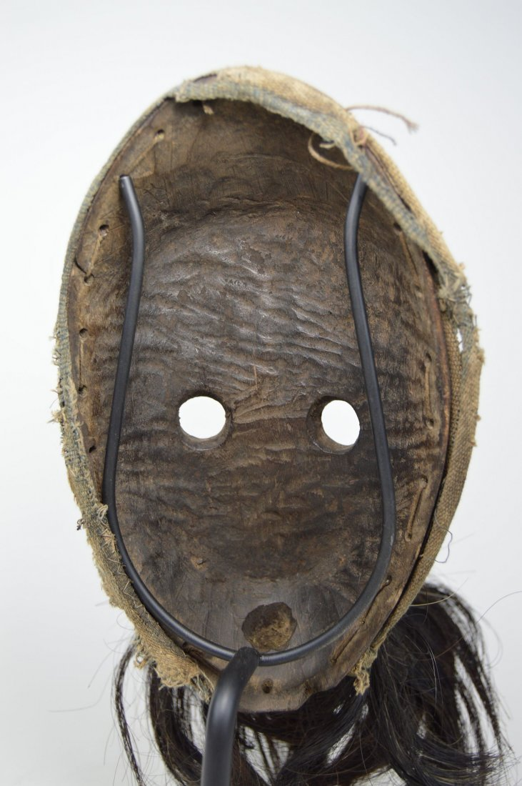 A Dan Gagon African mask with animal fur - 5