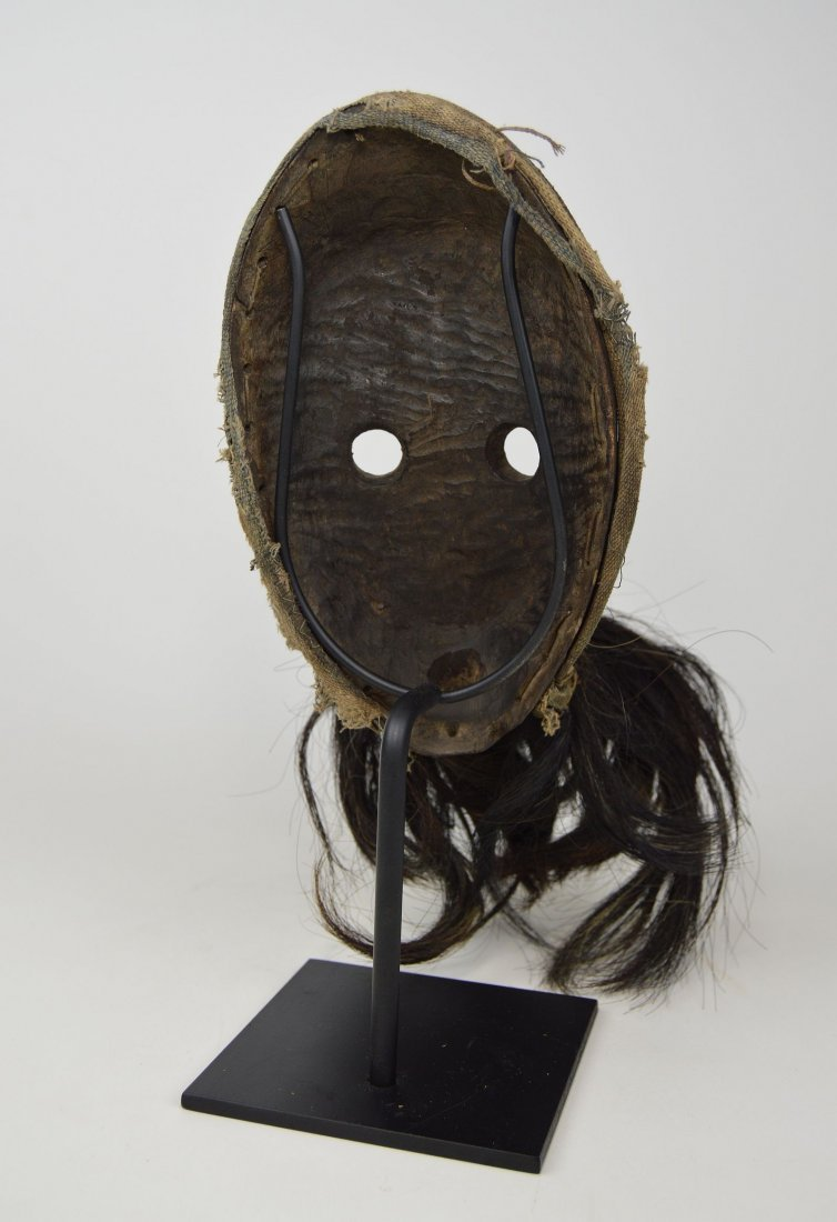 A Dan Gagon African mask with animal fur - 6