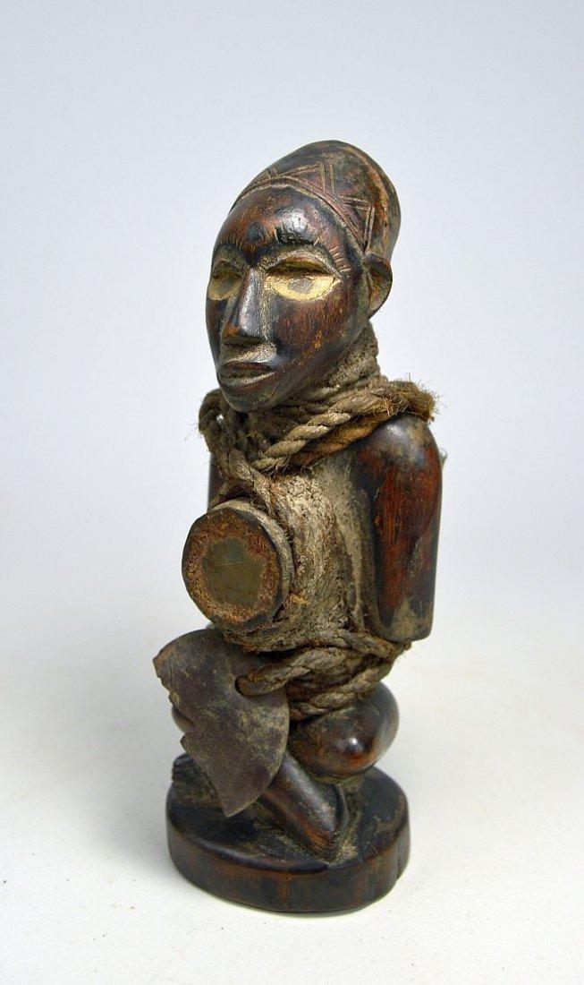 A Kongo Nkisi magic fetish