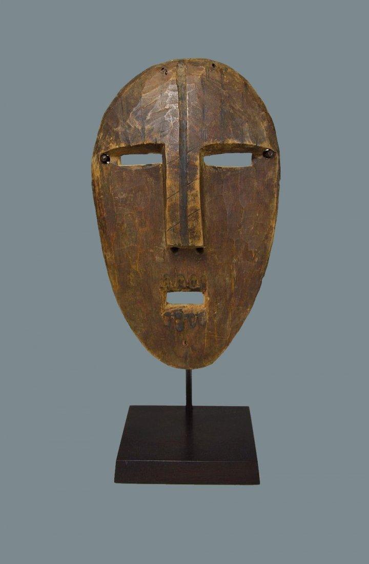 A Very Rare Old Kumu Divination Society Mask