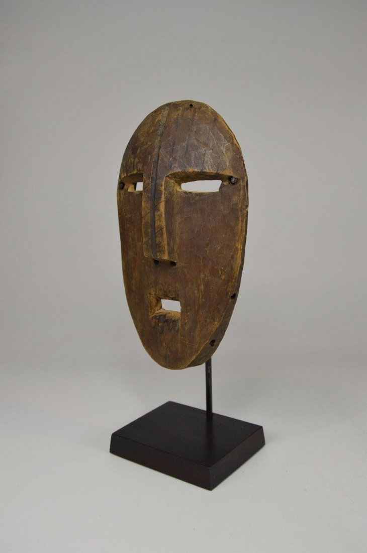 A Very Rare Old Kumu Divination Society Mask - 2