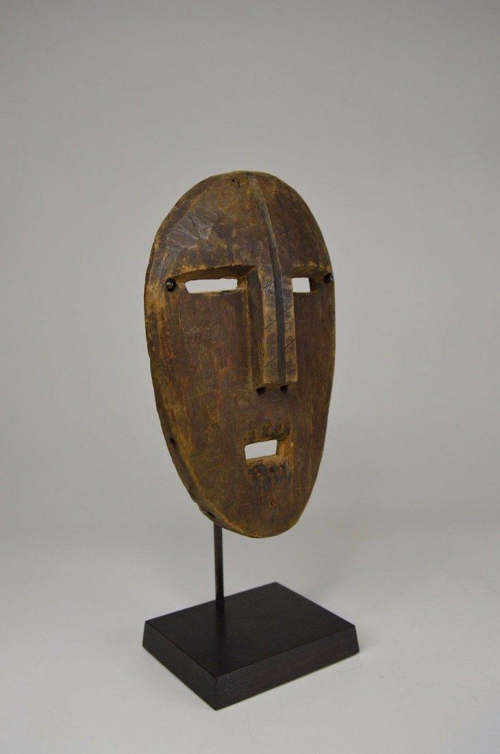 A Very Rare Old Kumu Divination Society Mask - 3