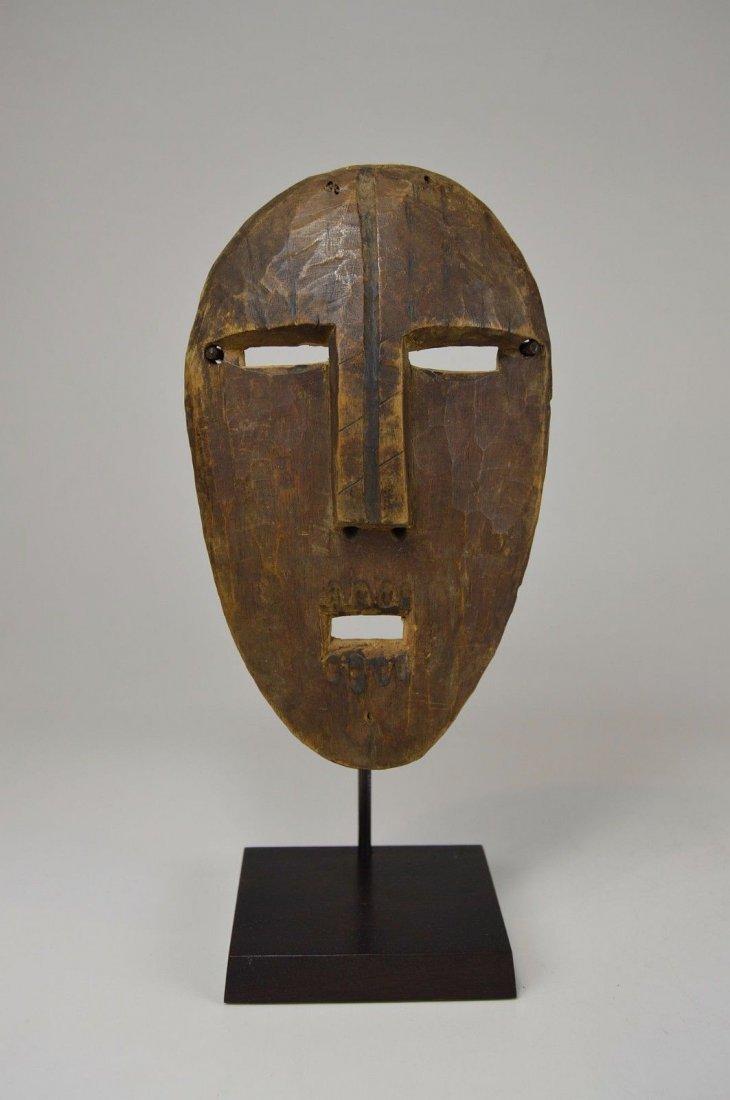A Very Rare Old Kumu Divination Society Mask - 4